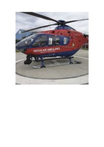 Picture of the Air Ambulance